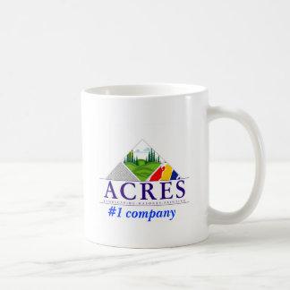 acres landscaping construction, #1 company coffee mug