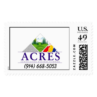 acres money will be donated to helping funds, (914 postage stamps