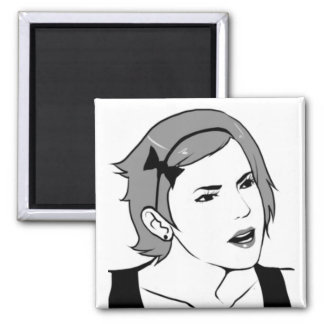 acres you serious female 2 inch square magnet