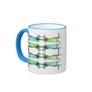 Acro-cats! Ringer Mug