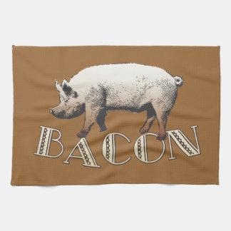 Acrobat BACON Pig Kitchen Towel