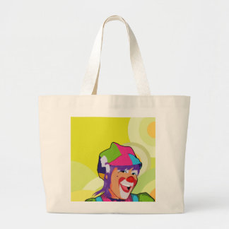 acrobat beautiful large tote bag