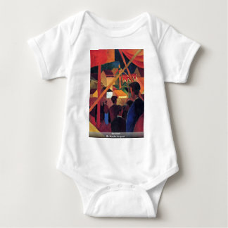 Acrobat By Macke August T-shirt