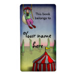 Acrobat Dreams, bookplates or shipping labels