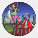 Acrobat Dreams, sticker Round Sticker