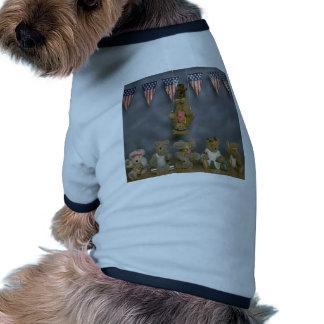 Acrobat Patriotic Bears Pet Clothing