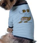 Acróbata del mono ropa de perros