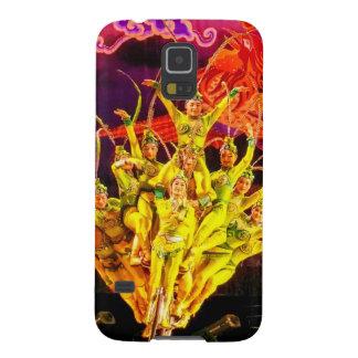 Acróbatas de circo de Pekín Carcasas De Galaxy S5