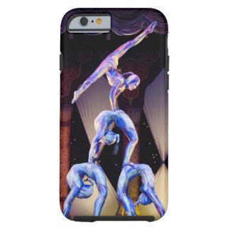 Acróbatas de circo funda de iPhone 6 tough