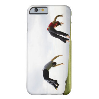 Acróbatas y contorsionistas 3 funda de iPhone 6 barely there