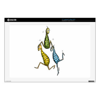 "Acrobatic Whats-Its 17"" Laptop Skin"