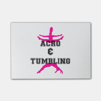 Acrobatics and Tumbling Post-it Notes