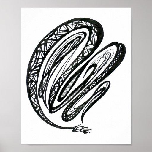 Acrobatics Art Print