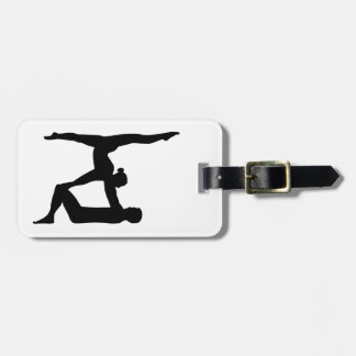 Acrobatics Luggage Tag