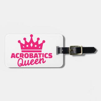 Acrobatics Queen Bag Tag