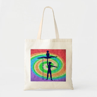 Acrobatics Tote Bag