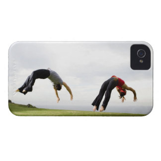 Acrobats and Contortionists 3 iPhone 4 Cover