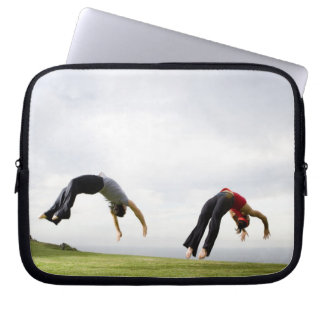 Acrobats and Contortionists 3 Laptop Computer Sleeve