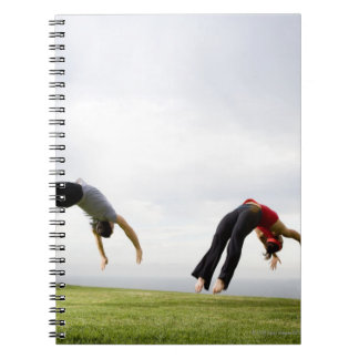 Acrobats and Contortionists 3 Spiral Note Book