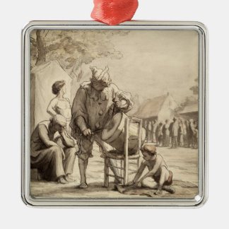 Acrobats at the Fair c.1865-69 Metal Ornament