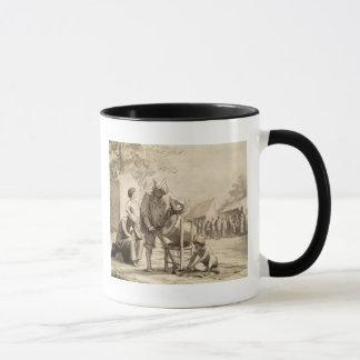 Acrobats at the Fair c.1865-69 Mug