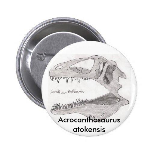 Acrocanthosaurus atokensis button