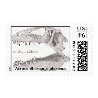 Acrocanthosaurus atokensis stamps