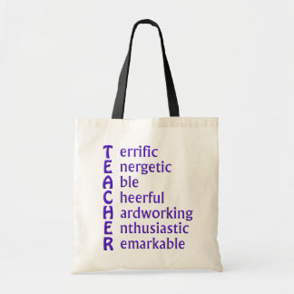 Acronym for Teachers Tote Bag