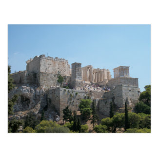 Acropolis - A View from Areopagus Post Card