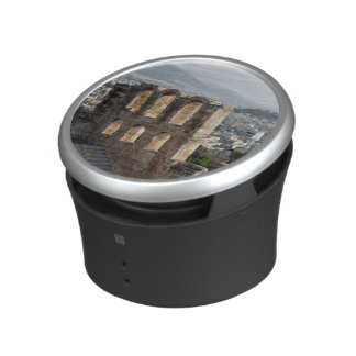 Acropolis Ancient ruins overlooking Athens Bluetooth Speaker