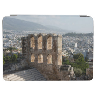 Acropolis Ancient ruins overlooking Athens iPad Air Cover