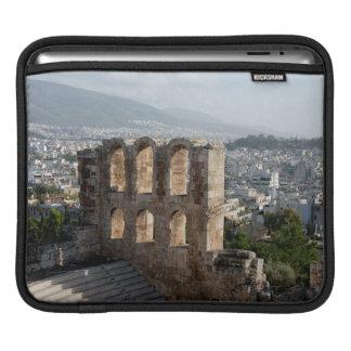 Acropolis Ancient ruins overlooking Athens iPad Sleeve