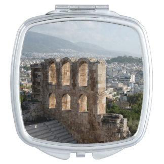 Acropolis Ancient ruins overlooking Athens Vanity Mirrors