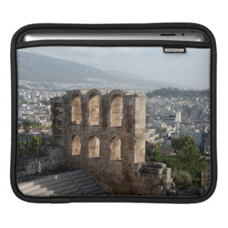 Acropolis Ancient ruins overlooking Athens Sleeve For iPads