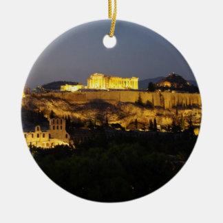 Acrópolis - Atenas Adorno De Navidad
