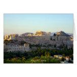 Acrópolis - Atenas Felicitación