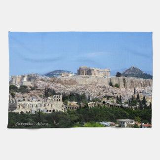 Acrópolis - Atenas Toallas De Mano