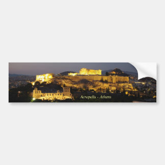 Acrópolis - Atenas Pegatina Para Auto