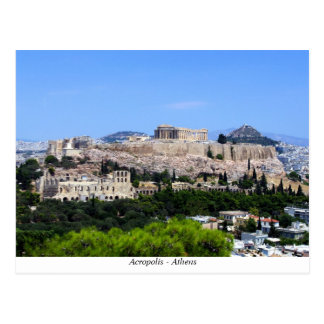 Acrópolis - Atenas Postal