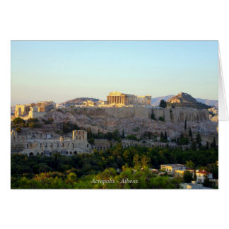 Acrópolis - Atenas Tarjeta Pequeña