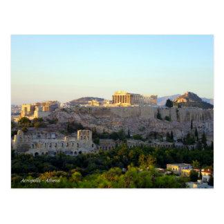Acrópolis - Atenas Tarjeta Postal