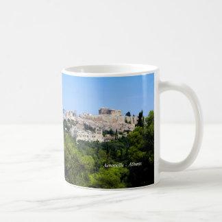 Acrópolis - Atenas Taza De Café
