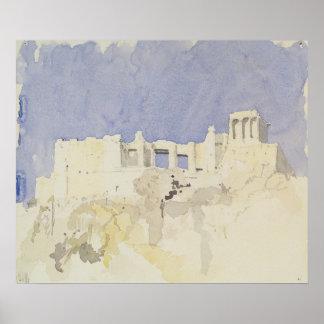 Acropolis Athens 1994 Poster