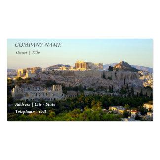 Acropolis – Athens Business Card Template