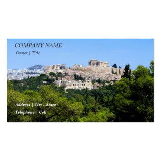 Acropolis – Athens Business Card Templates