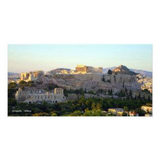 Acropolis – Athens Personalized Photo Card
