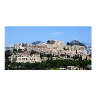 Acropolis – Athens Custom Photo Card