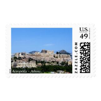 Acropolis – Athens Postage Stamp