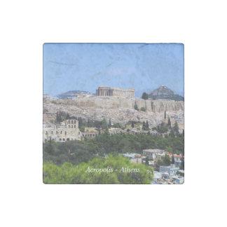 Acropolis – Athens Stone Magnet