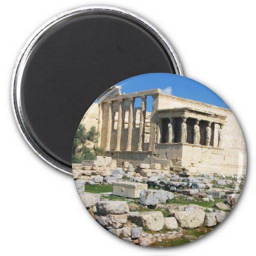 Acrópolis de Erechtheum - GRECIA Iman Para Frigorífico